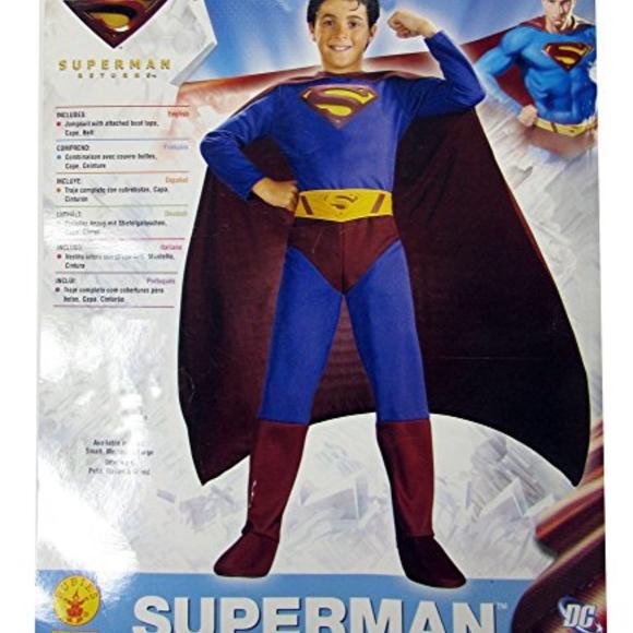 7d7bb27508f Rubie's Superman Returns Boys Halloween Costume L